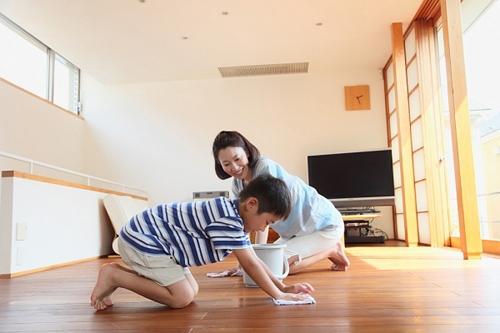 Cách lau sàn nhà sạch